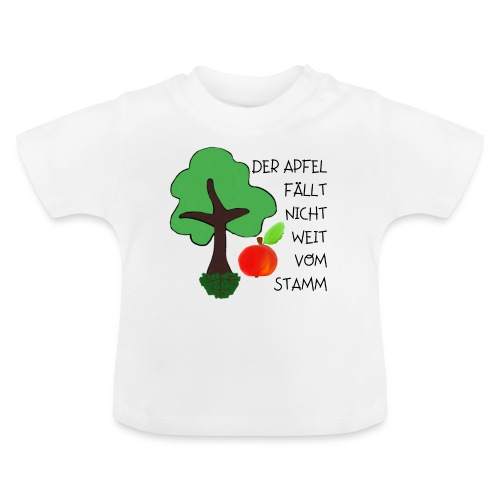 Apfelbaum - Baby T-Shirt
