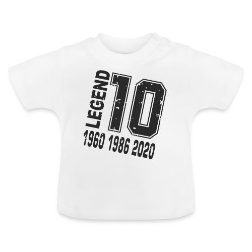 Legend 10 - Camiseta bebé