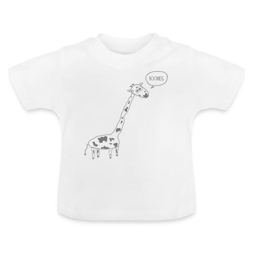 Naughty Giraffe - Baby T-Shirt