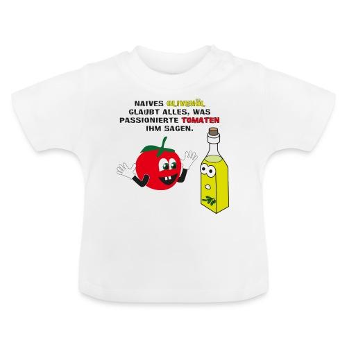 Tomate und Olivenöl - Baby T-Shirt