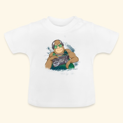 Gorilla Jungle Hiphop - Camiseta bebé