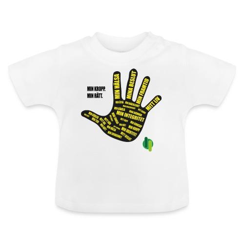 MinKroppMinrätt - Baby-T-shirt