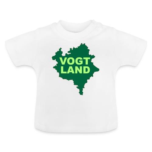 Vogtland Landkarte Landkreis Sachsen Touristik - Baby T-Shirt