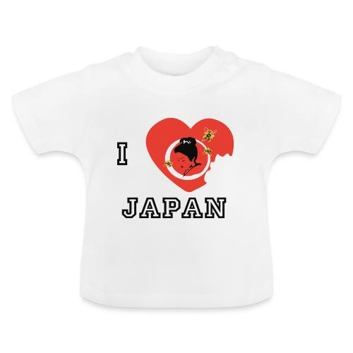 i love japan - T-shirt Bébé