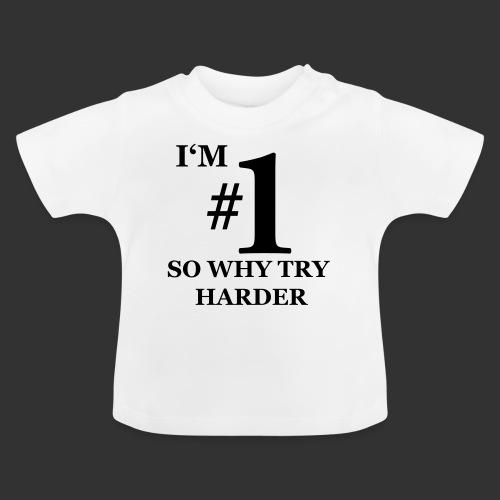 T-shirt, I'm #1 - Baby-T-shirt