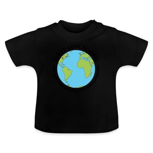 Start Geocaching - Vauvan t-paita