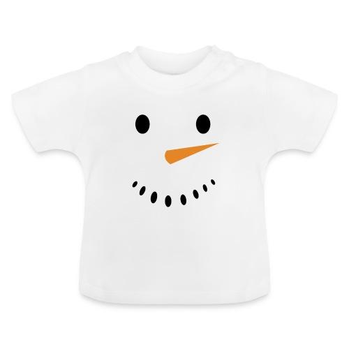 Bonhomme de neige Noël Hiver - T-shirt Bébé