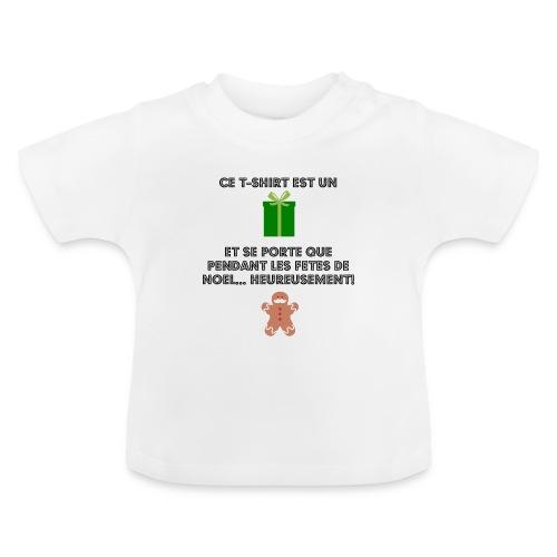 T-shirt cadeau de Noël - T-shirt Bébé