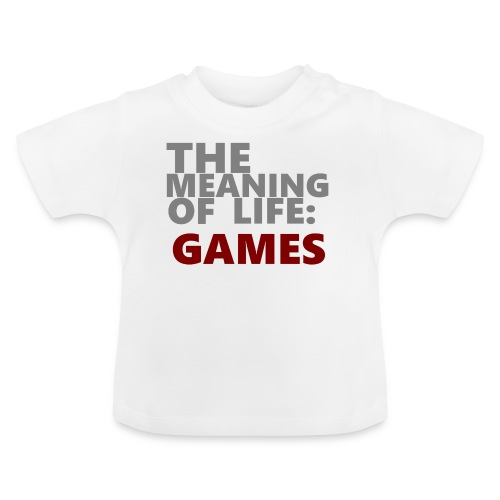 T-Shirt The Meaning of Life - Baby T-shirt