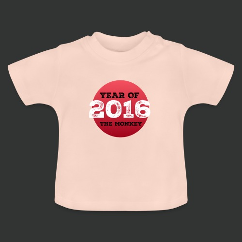 2016 year of the monkey - Baby T-Shirt