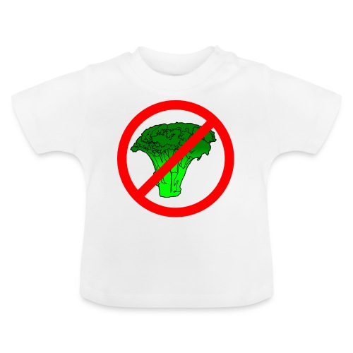 no broccoli allowed - Baby T-Shirt