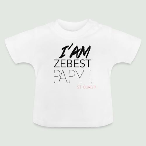 iamezbestpapy - T-shirt Bébé