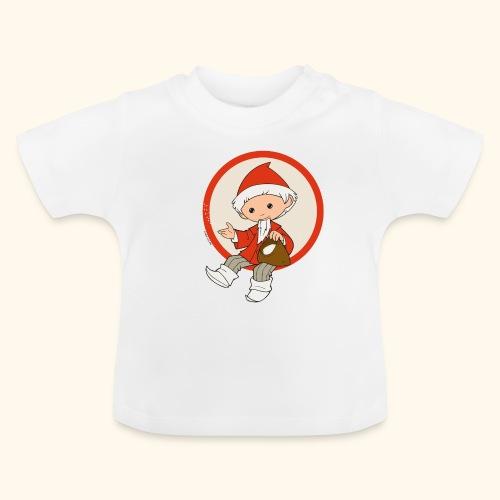 Sandmännchen streut Sand - Baby T-Shirt