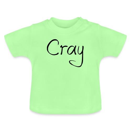 Cray Black Schrifft - Baby T-Shirt