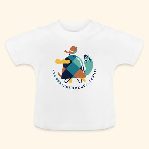 Tartaruga e uccellino - Maglietta per neonato