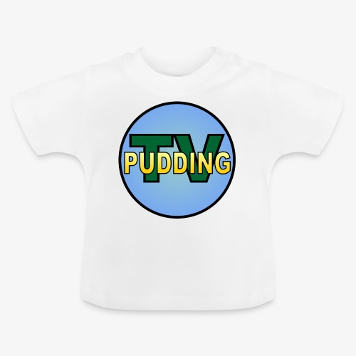 Pudding-TV - Baby-T-skjorte