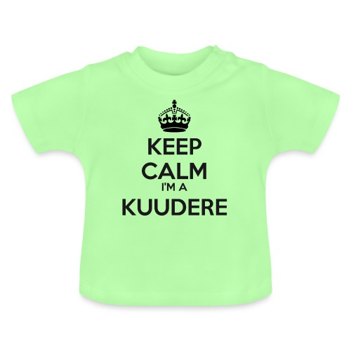 Kuudere keep calm - Baby T-Shirt