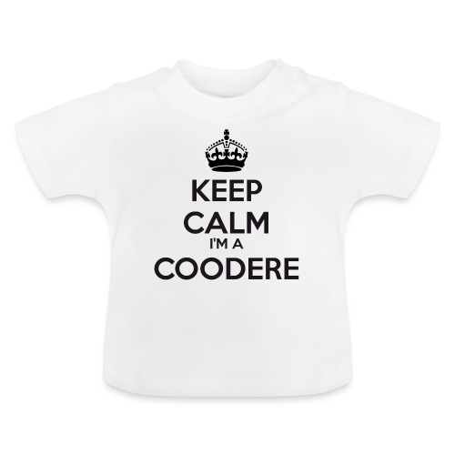 Coodere keep calm - Baby T-Shirt