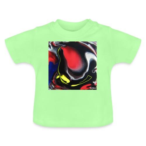TIAN GREEN Mosaik DK007 - Vortex - Baby T-Shirt