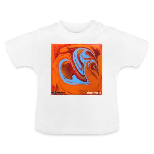 TIAN GREEN Mosaik DK005 - Herzenswelten - Baby T-Shirt