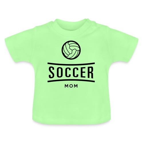 soccer mom - T-shirt Bébé