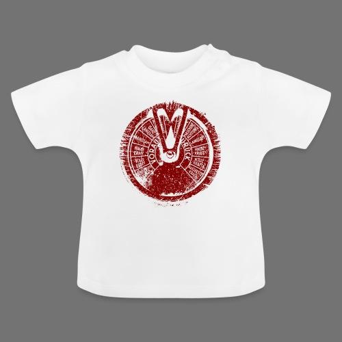 Maschinentelegraph (rød oldstyle) - Baby T-shirt