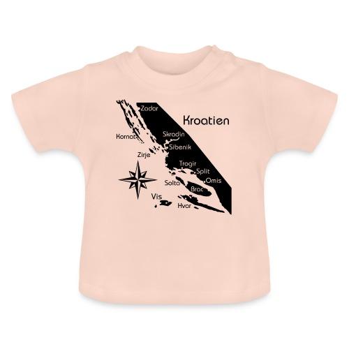 Kroatien Zadar bis Hvar - Baby T-Shirt