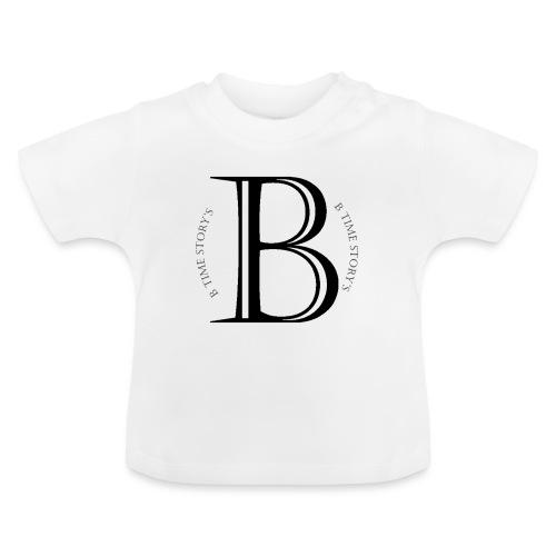 logo wit - Baby T-shirt