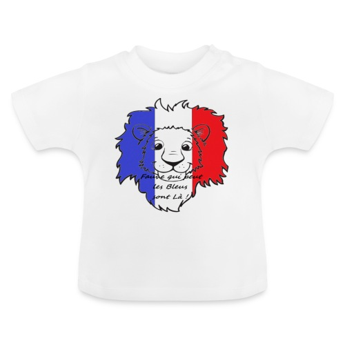 Lion supporter France - T-shirt Bébé