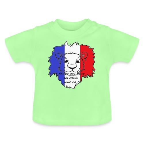 Lion supporter France - T-shirt Bébé