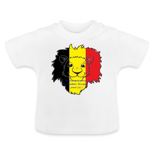 Lion supporter Belgique - T-shirt Bébé