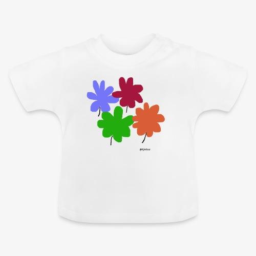 Kukat - Vauvan t-paita
