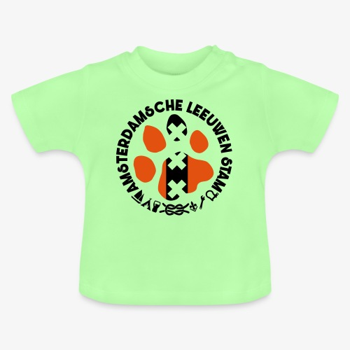 ALS witte rand licht - Baby T-shirt