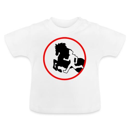Horse Agility Logo - Baby T-Shirt