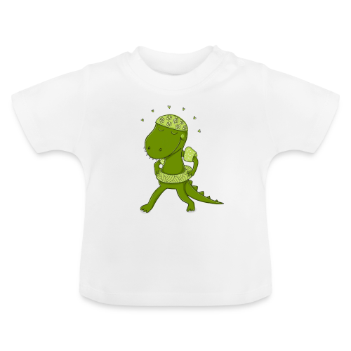 Lustiges Krokodil - Baby T-Shirt