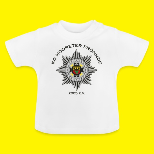 Schwarze Schrift - Baby T-Shirt