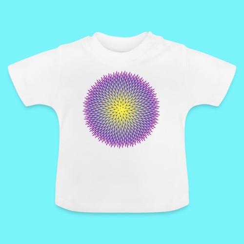 Fibonacci based image with radiating elements - Baby T-Shirt