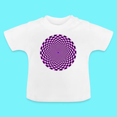 Mandala figure from rhombus shapes - Baby T-Shirt