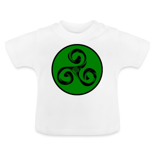 Triskel and Spiral - Camiseta bebé