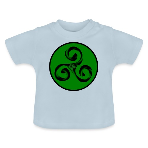 Triskel and Spiral - Camiseta bebé