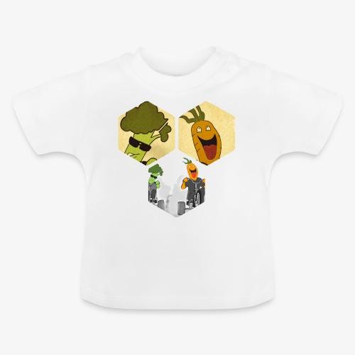 Vegetables race - T-shirt Bébé