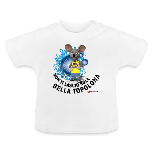Bella Topolona testo Nero - Maglietta per neonato
