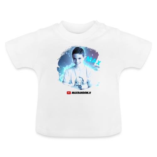 Max Random - Maglietta per neonato