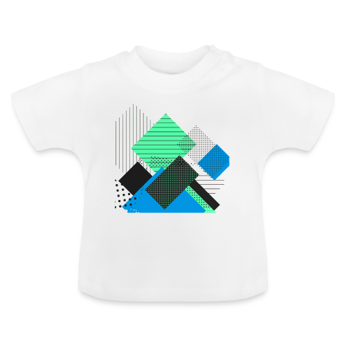 Abstract rectangles pastel - Baby T-Shirt