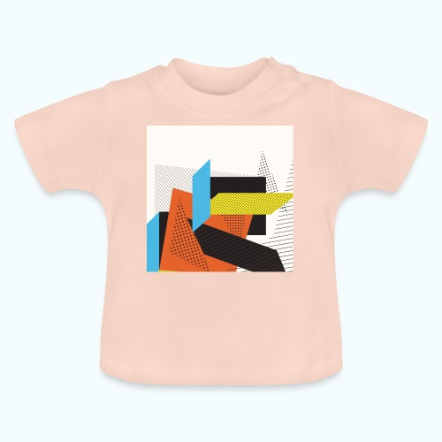 Vintage shapes abstract - Baby T-Shirt