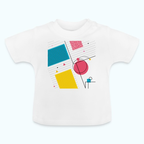 Colors shapes abstract - Baby T-Shirt