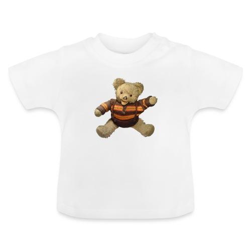 Teddybär - orange braun - Retro Vintage - Bär - Baby T-Shirt