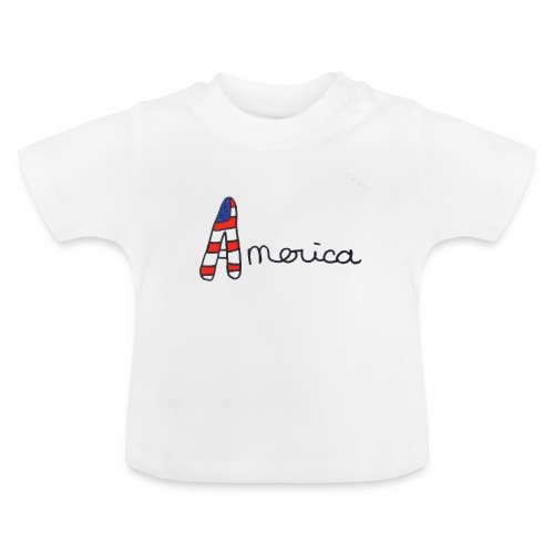 America - T-shirt Bébé