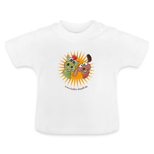 Kollin Kläff - Hund mit Drache - Baby T-Shirt