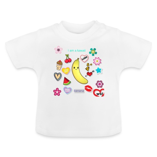 banana en force - T-shirt Bébé